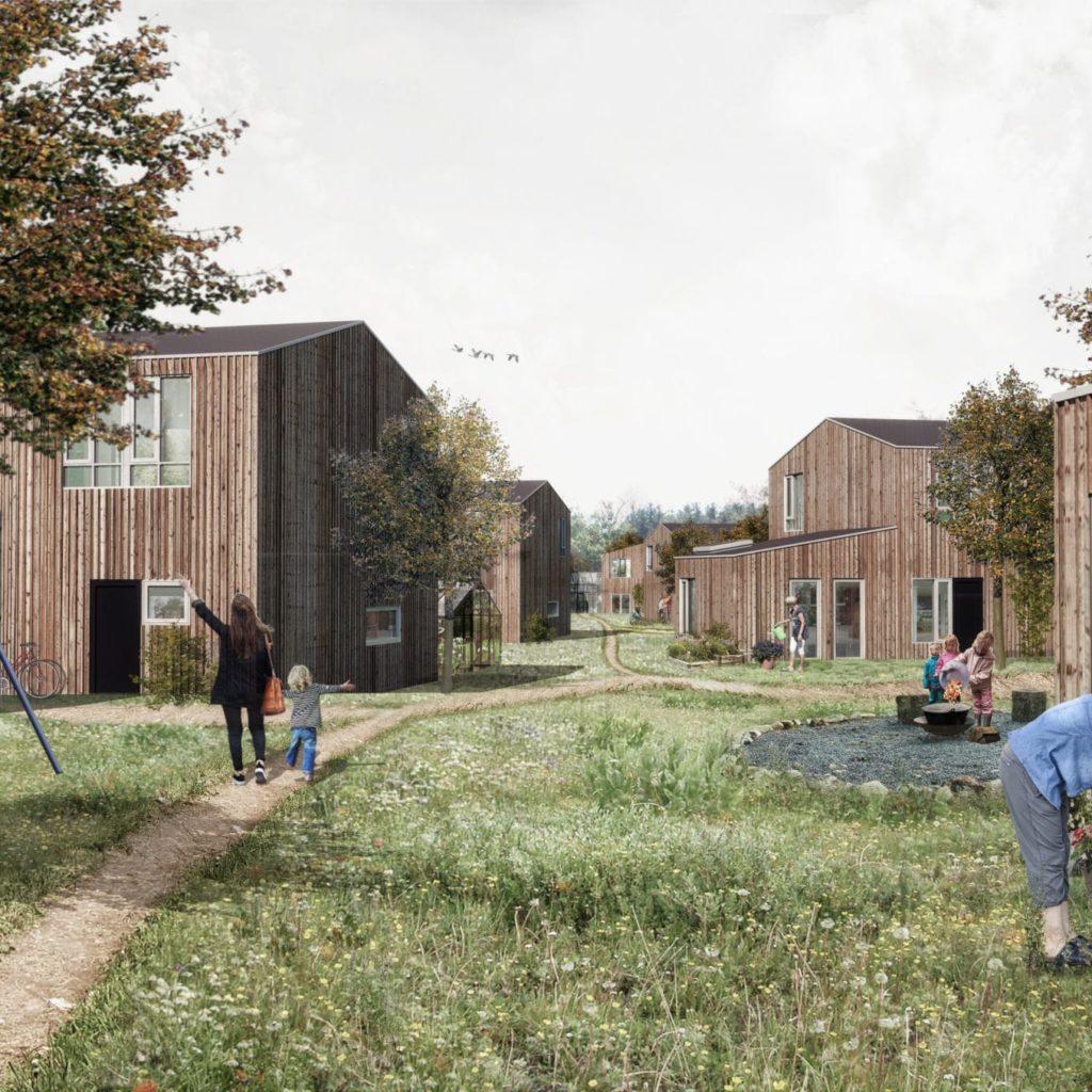 LEA Ejendomspartner Skal Administrere Bæredygtig Landsby