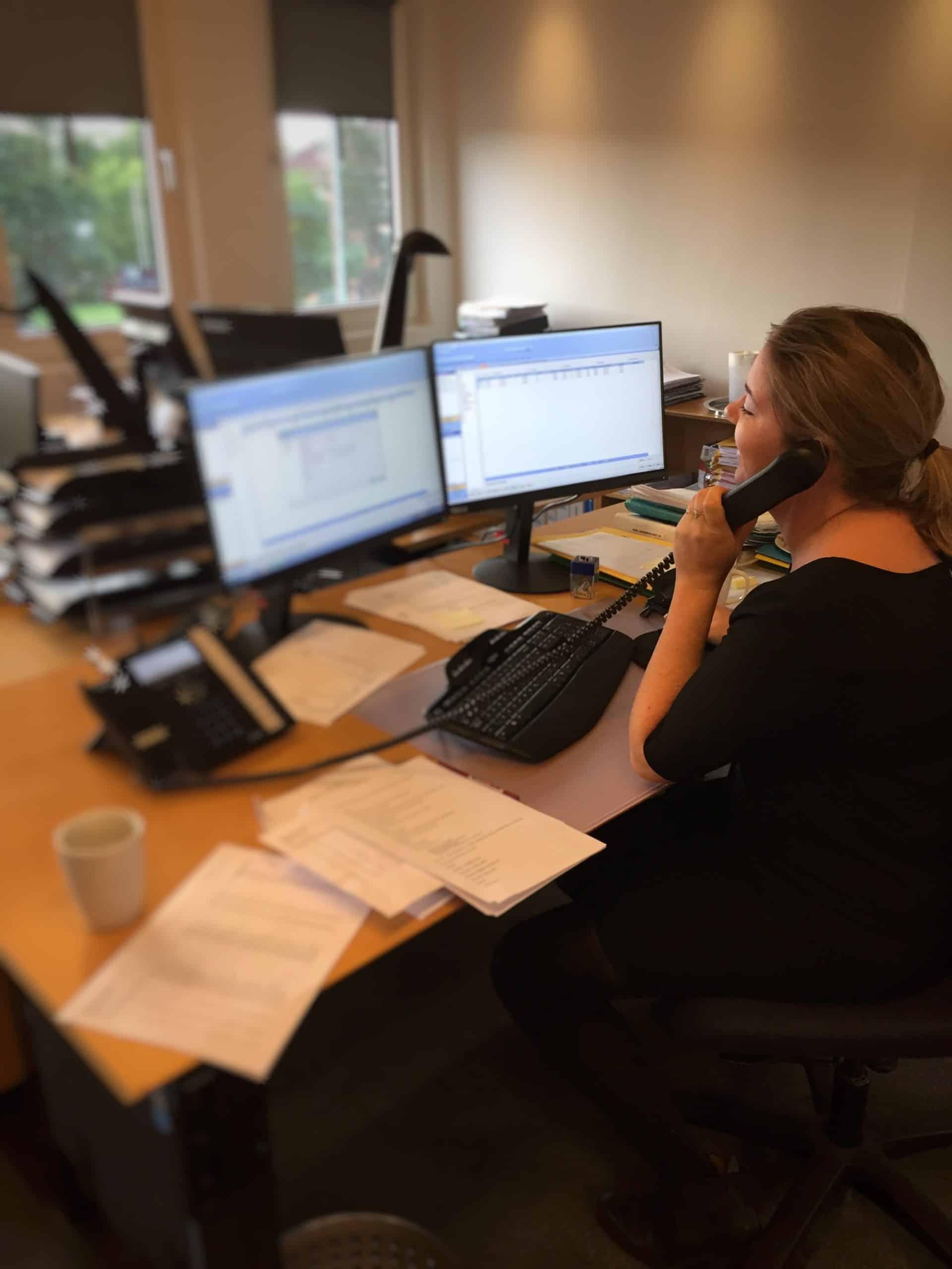 I Løbet Af Vores Første Uge, Har Vi Håndteret Indkommende Telefonopkald Og Hjulpet Både Ejere Og Lejere Videre Til Deres Respektive Administrator.